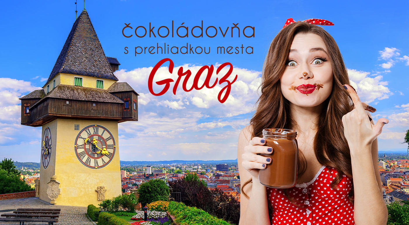 Rakúsko: Návšteva čokoládovne Zotter a prehliadka mesta Graz v predveľkonočnom termíne