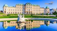 Viedeň: jednodňový zájazd na rakúske zámky Schönbrunn a Belveder s najkrajšími kráľovskými záhradami