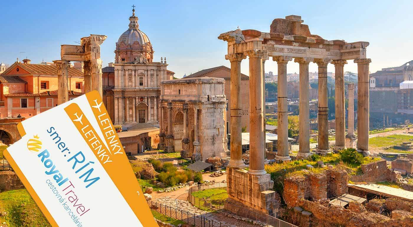 Prezrite si na vlastné oči miesta, na ktorých sa udiala fascinujúca história rímskeho impéria. Na zájazde do Ríma s CK Royal Travel objavíte jeho najkrajšie zákutia. V cene je ubytovanie aj doprava!