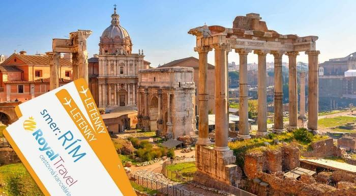 Fotka zľavy: Letecký zájazd do Ríma