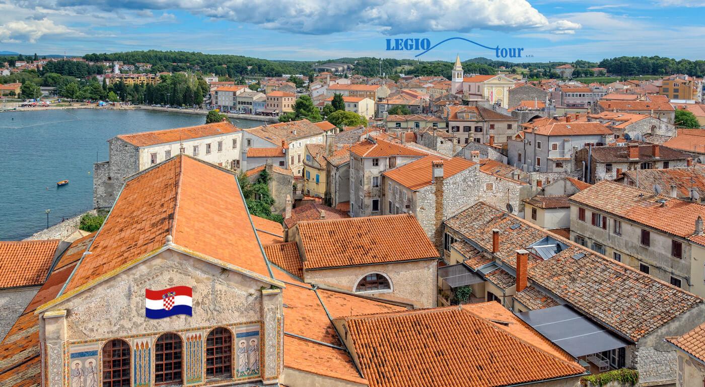 Chorvátsko: Sobota pri mori v obľúbenom letovisku Poreč