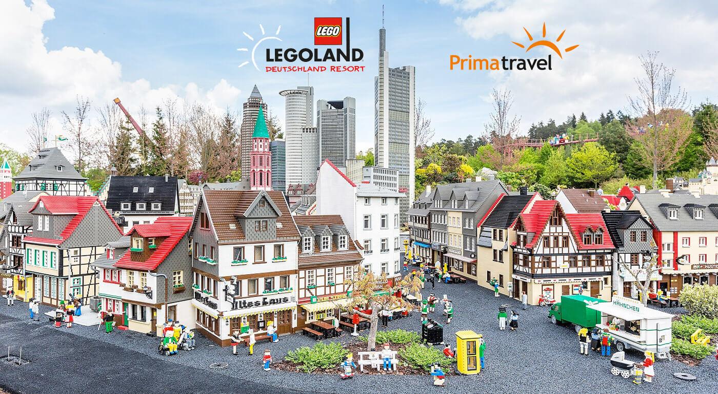 Nemecko: Legoland a neskutočný svet z kociek