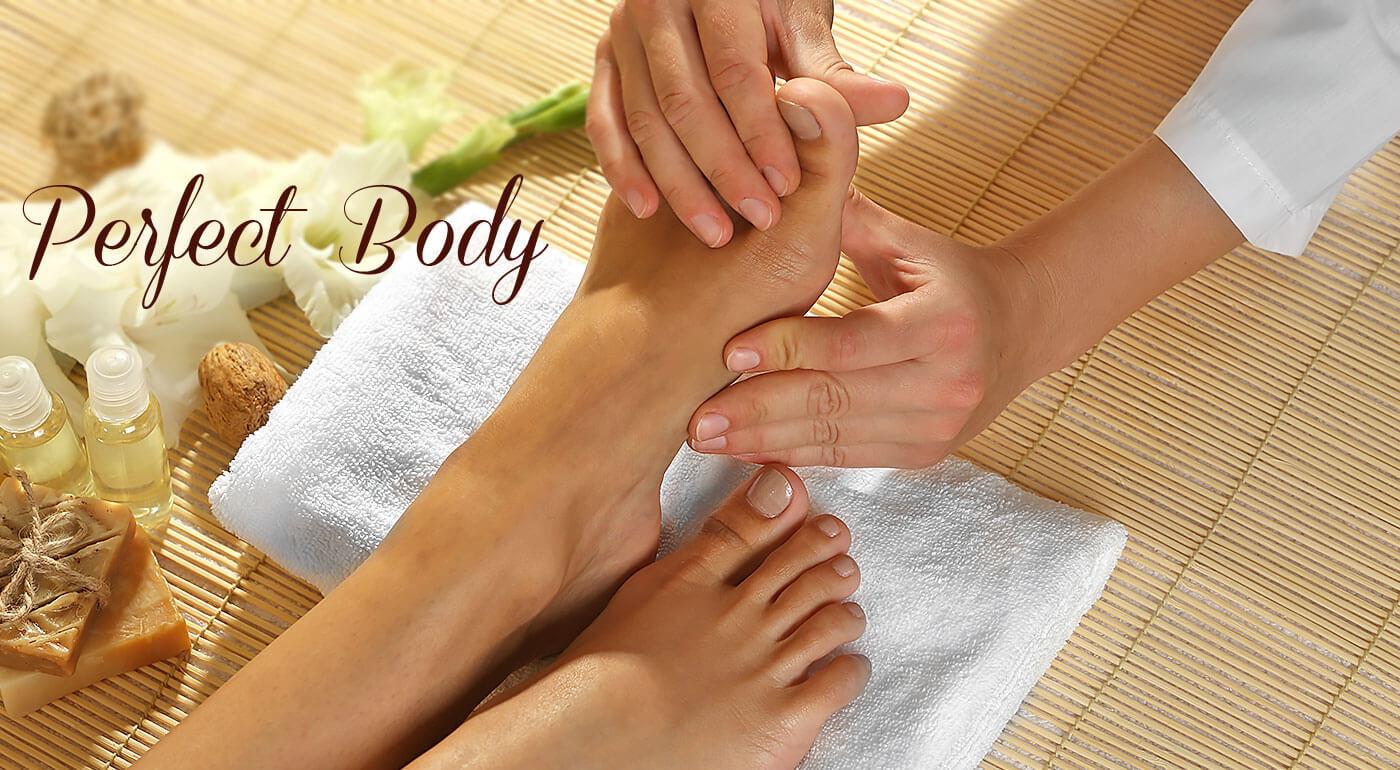 Reflexná masáž chodidiel v salóne Perfect Body - úľava a relax nielen pre vaše nohy!