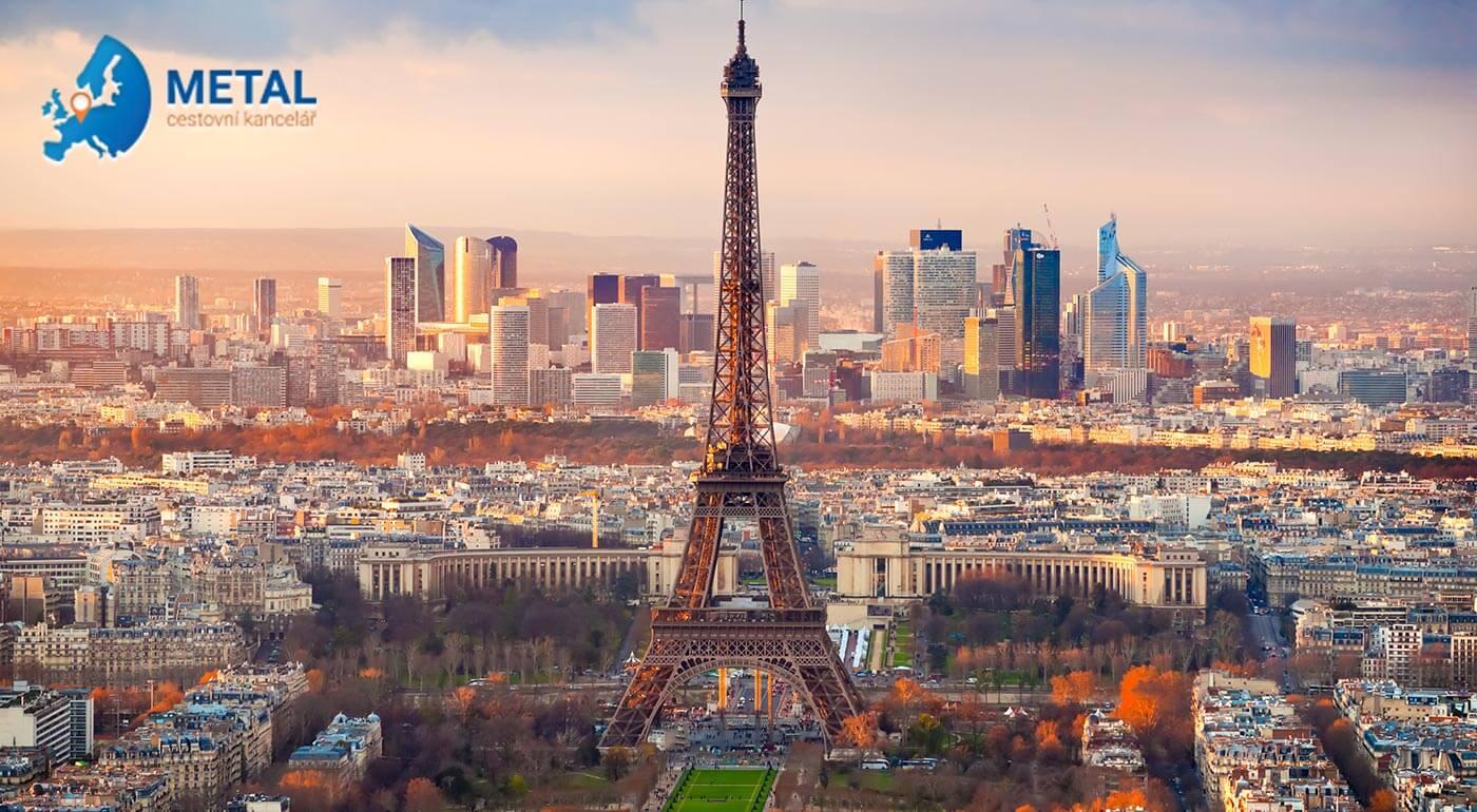 Romantický Paríž: Valentínsky zájazd na 4 dni s fľašou sektu pre dvojicu