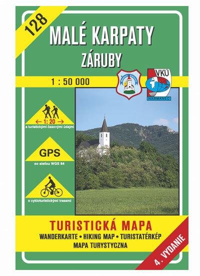 VKÚ Harmanec Turistická mapa Malé Karpaty - Záruby 1:50 000 TM 128
