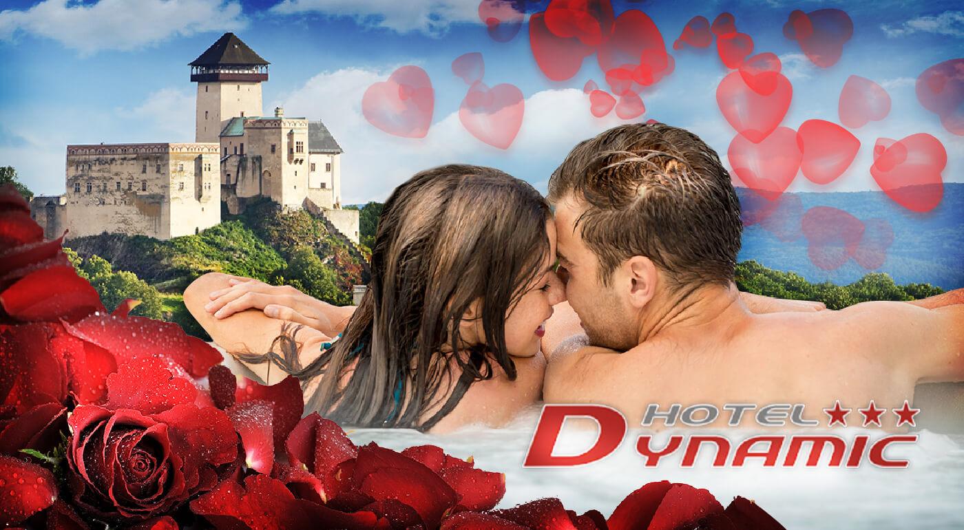Valentínsky pobyt s privátnym wellness a fľašou sektu pre dvoch v Hoteli Dynamic***