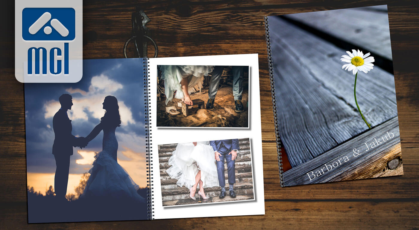 Fotokniha s krúžkovou väzbou s rôznym počtom strán - vaše príbehy ukryté v originálnej knihe, ktorú v kníhkupectvách nenájdete