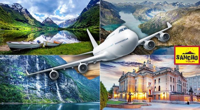 Dobrodružná výprava do bájnej krajiny Vikingov - navštívte to najkrajšie z Nórska. Letecký zájazd s turistickým programom na fjordoch a výstupom na najvyššie vrcholy.