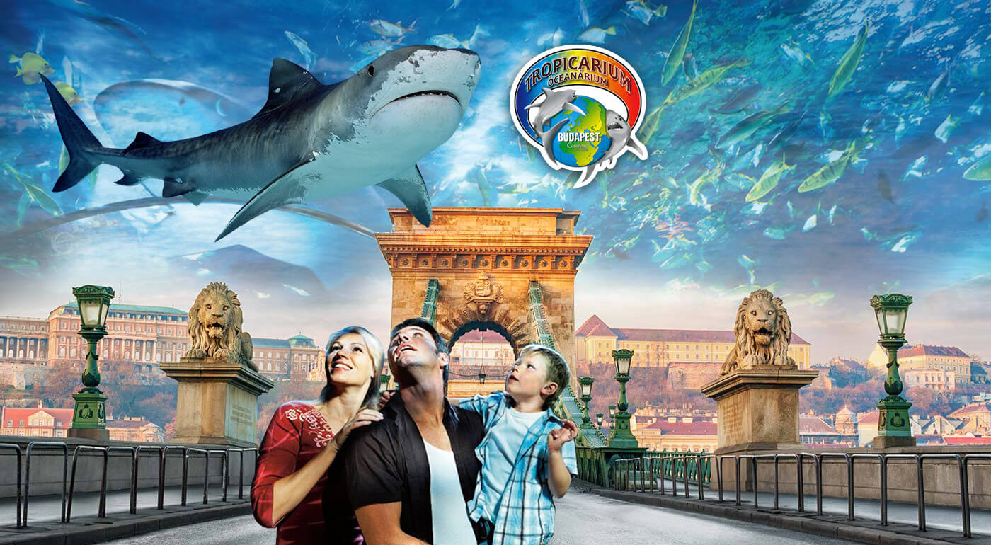 Budapešť: 1-dňový zájazd do najväčšieho morského akvária v Strednej Európe Tropicarium s prehliadkou historického centra mesta