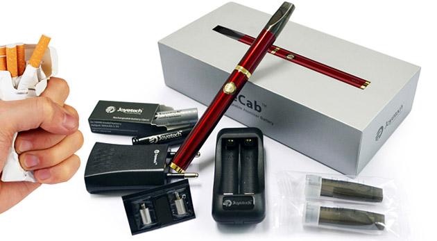 Žite zdravo a skoncujte s fajčením. Elektronické inhalátory Joyetech eCab a eGo-T.
