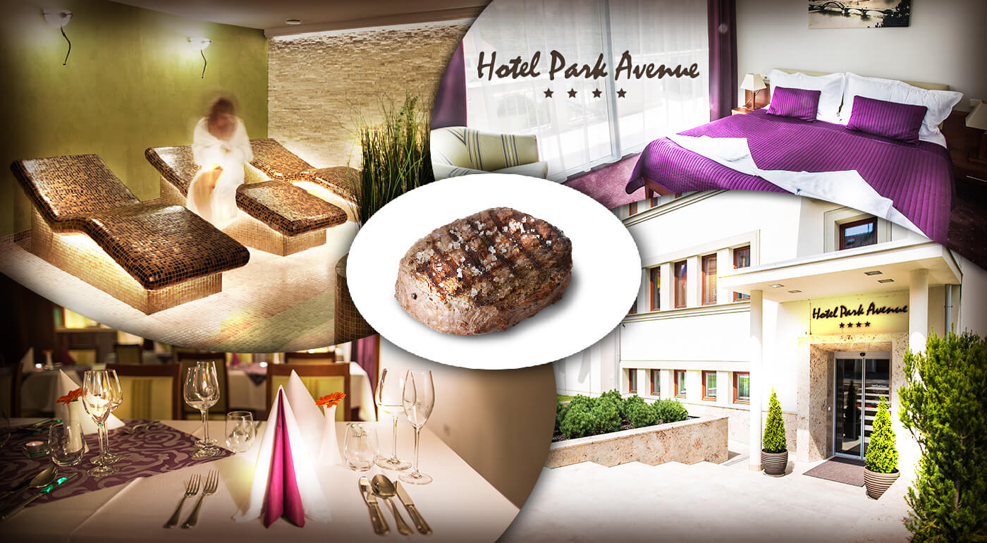 Hotel Park Avenue**** Piešťany: 3-dňový luxusný pobyt s polpenziou pre dvoch
