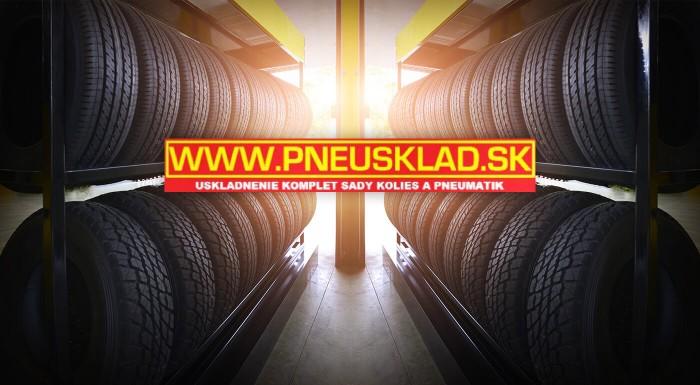 Uskladnenie kolies alebo pneumatík Pneusklad