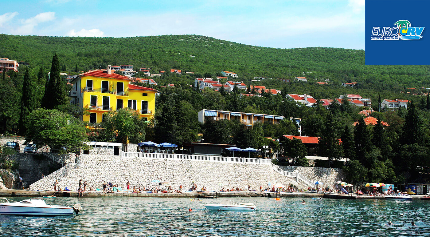 Výborné Chorvátsko na 8 dní v Hoteli alebo Pavilónoch Riviera** v Crikvenici s polpenziou