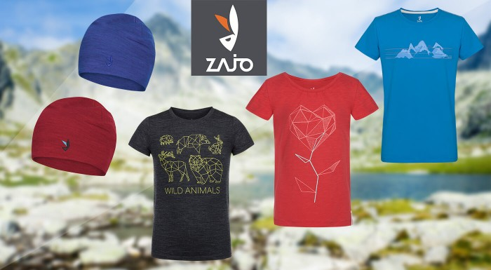 ZAJO robí super veci aj pre vašich najmenších. Vyberte si detské tričko z organickej bavlny, teplú zimnú čiapku alebo kvalitné bundy vo veľkostiach od 86 až do 164.