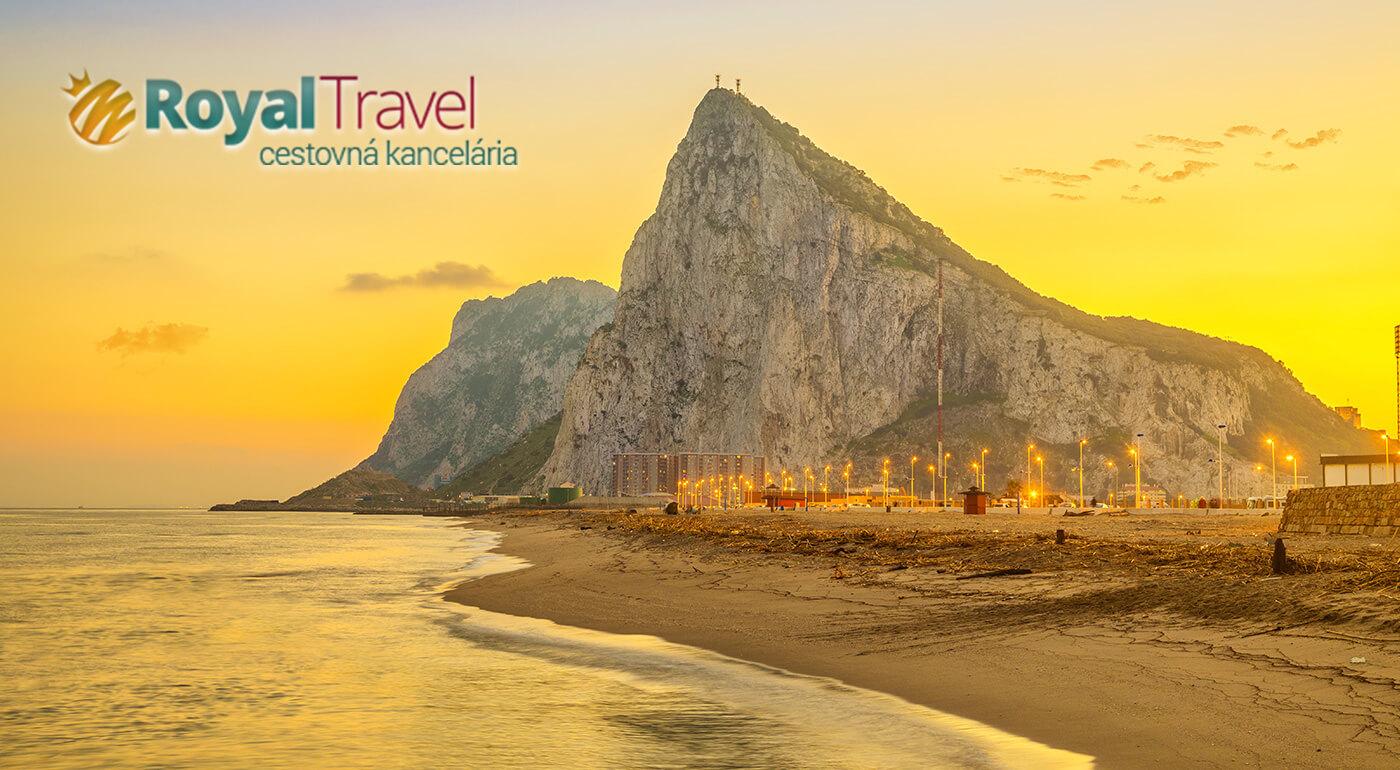 Andalúzia a Gibraltár: 4-dňový letecký zájazd do slnečného stredomoria