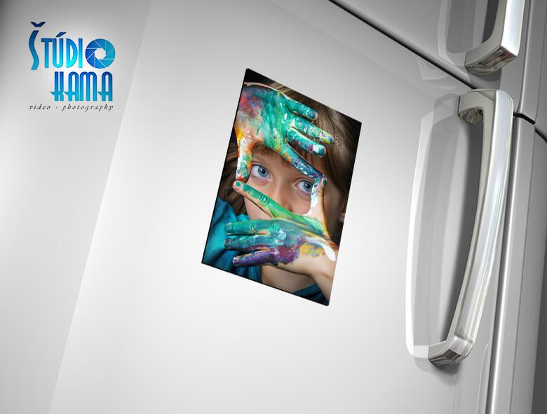 Foto Digital Studio: 2x fotomagnetka s vlastnou fotografiou s rozmerom 13x18 cm