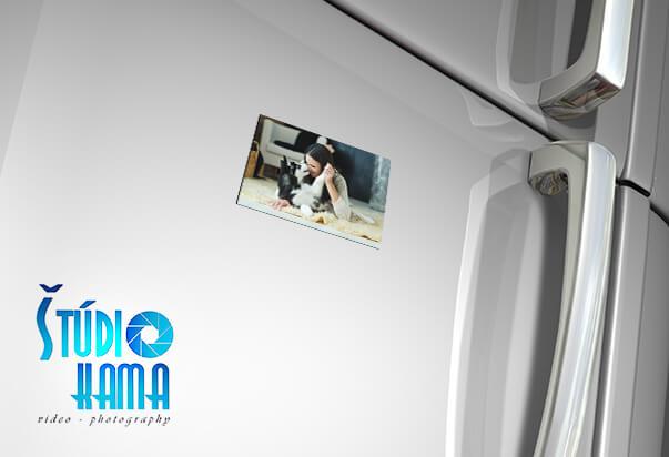 Foto Digital Studio: 10x fotomagnetka s vlastnou fotografiou s rozmerom 5x8 cm