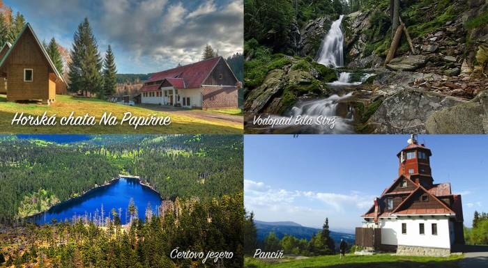 Dovolenka v prírode môže byť všelijaká. Zábavná, športová, turistická, osviežujúca, relaxačná... Na pobyte v Chate na Papírně vás čakajú turistické potulky i nenahraditeľný relax v horskom prostredí.