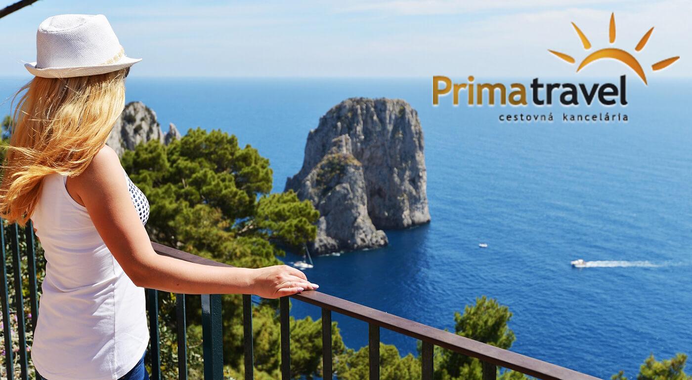 Taliansko: Neapol, Vezuv a ostrov Capri na 5-dňovom zájazde do južného regiónu Kampánia