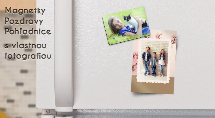 Magnetky alebo pohľadnice s vlastnou fotografiou