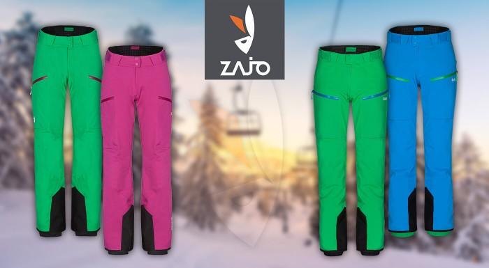 Lyžovačka bez teplého oblečenia nie je vôbec zábava. S kvalitnými nohavicami na lyžovanie od značky ZAJO budete v bezpečí aj v tom najväčšom snehu, vetre či mráze.