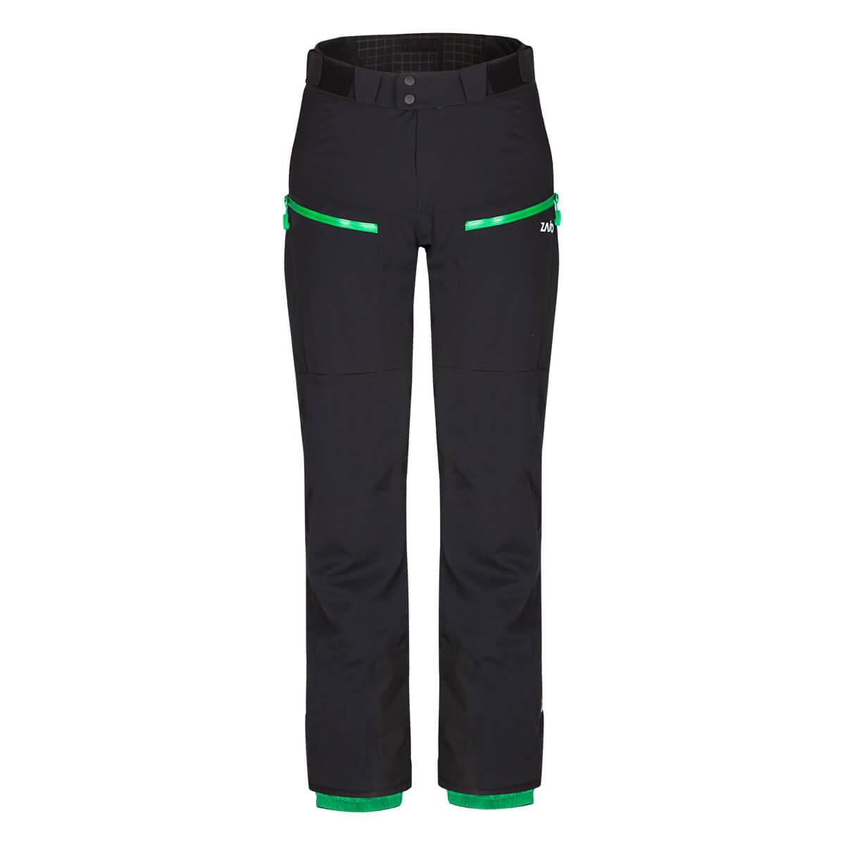 Pánske lyžiarske nohavice Zajo Nassfeld W Pants Black - veľkosť M