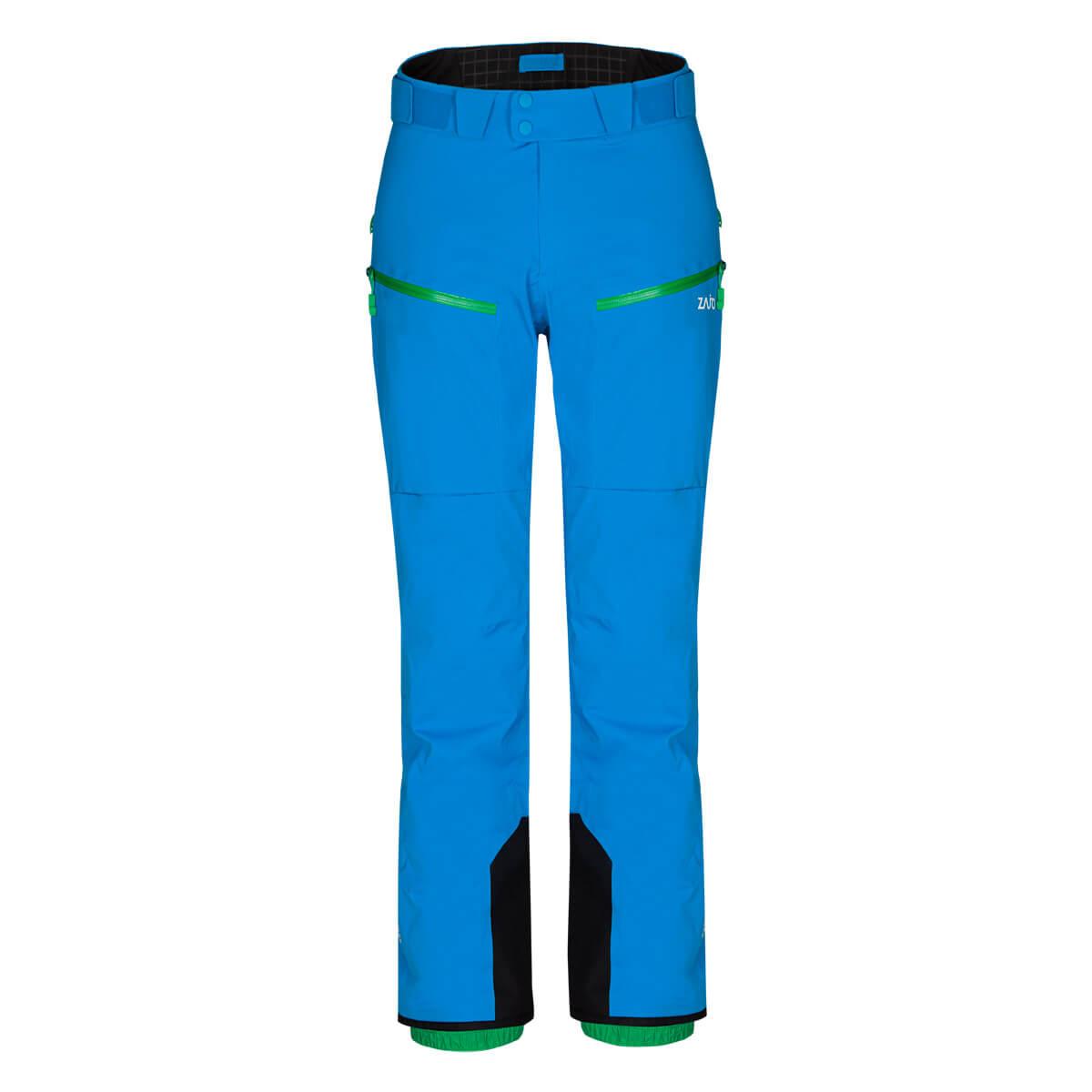 Pánske lyžiarske nohavice Zajo Nassfeld W Pants Blue Jewel - veľkosť M