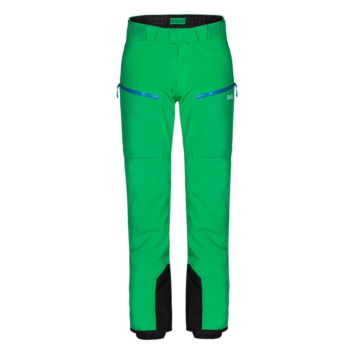 Pánske lyžiarske nohavice Zajo Nassfeld W Pants Bright Green - veľkosť M