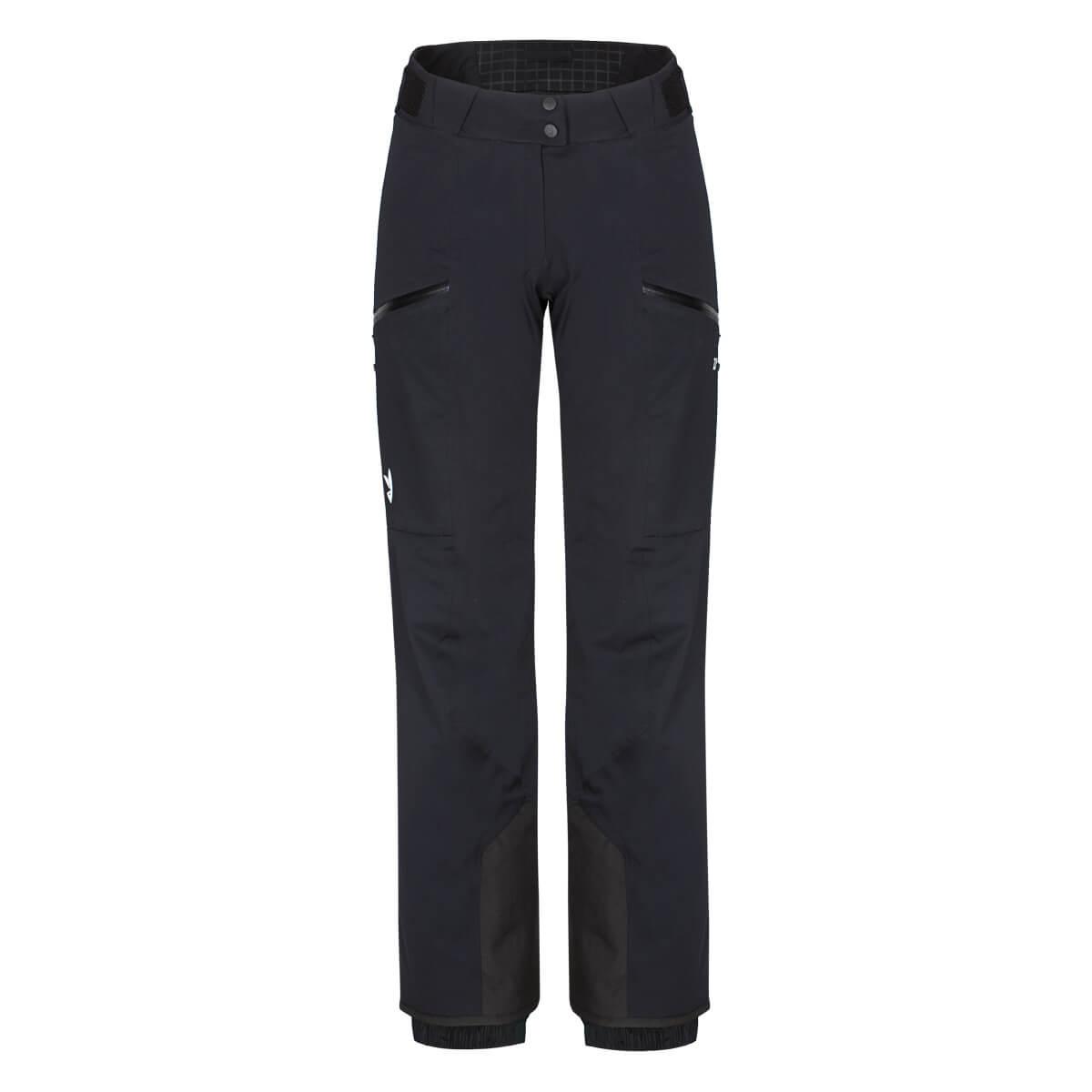 Dámske lyžiarske nohavice Zajo Civetta W Pants Black - veľkosť XS