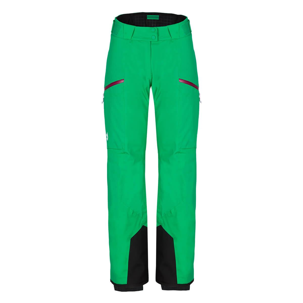 Dámske lyžiarske nohavice Zajo Civetta W Pants Bright Green - veľkosť S