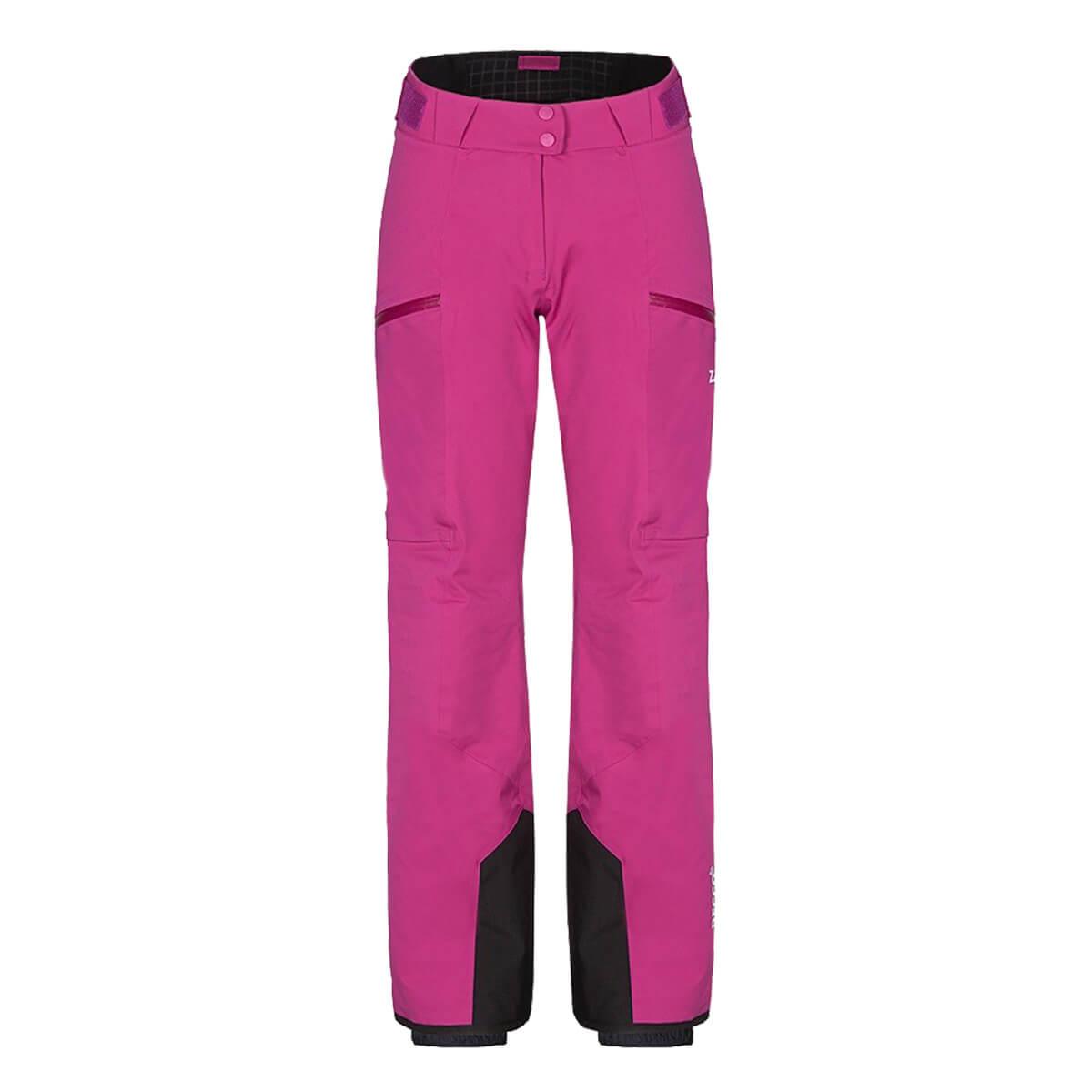 Dámske lyžiarske nohavice Zajo Civetta W Pants Fuchsia - veľkosť S