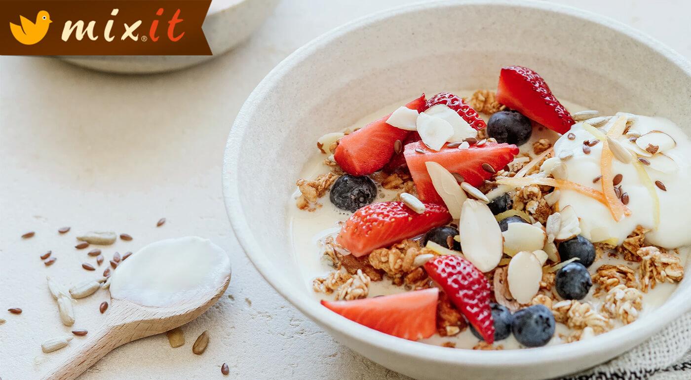 Nadčasové müsli MIXIT - výživné a chutné raňajky pre celú rodinu
