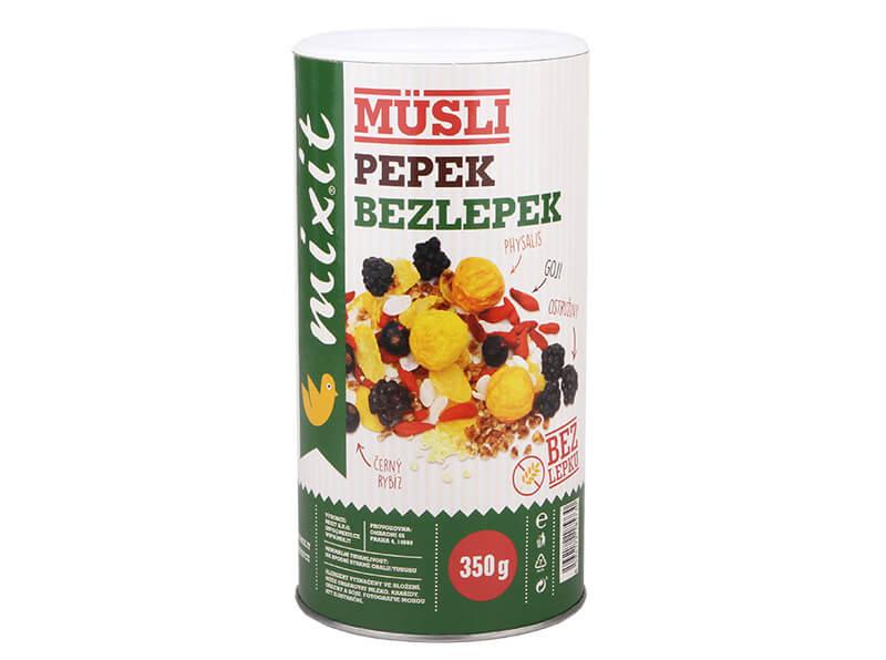 Mixit Pepek Bezlepok 350 g raňajkové müsli