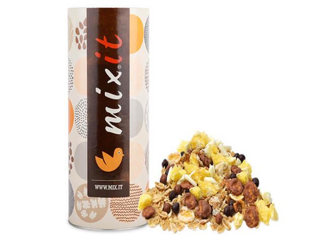 Raňajkové müsli Mixit Čoko-ládovanie bez kávových zŕn 650 g