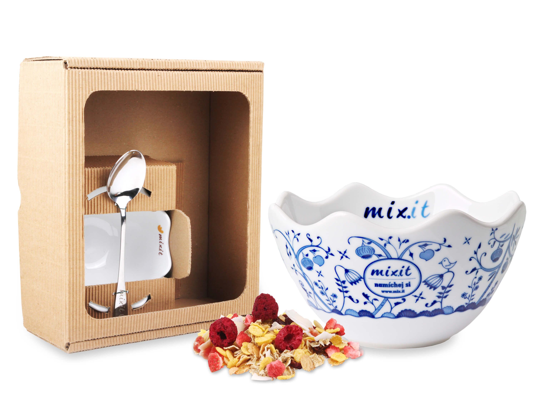 Cibuláková miska s lyžičkou MIXIT v darčekovej krabici (bez tubusu)