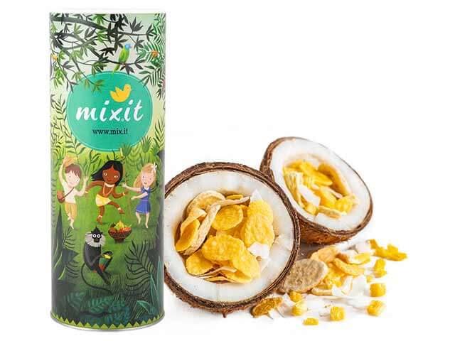 Mixit Ty kokos 380 g raňajkové müsli