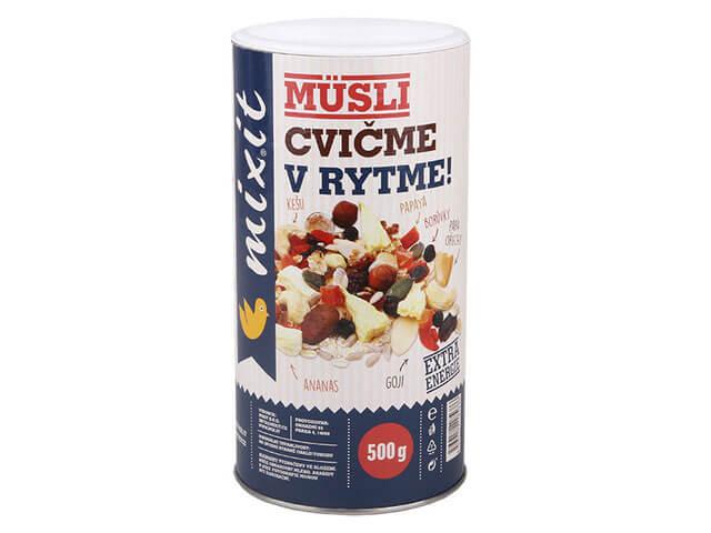 Mixit Cvičme v rytme 500 g raňajkové müsli