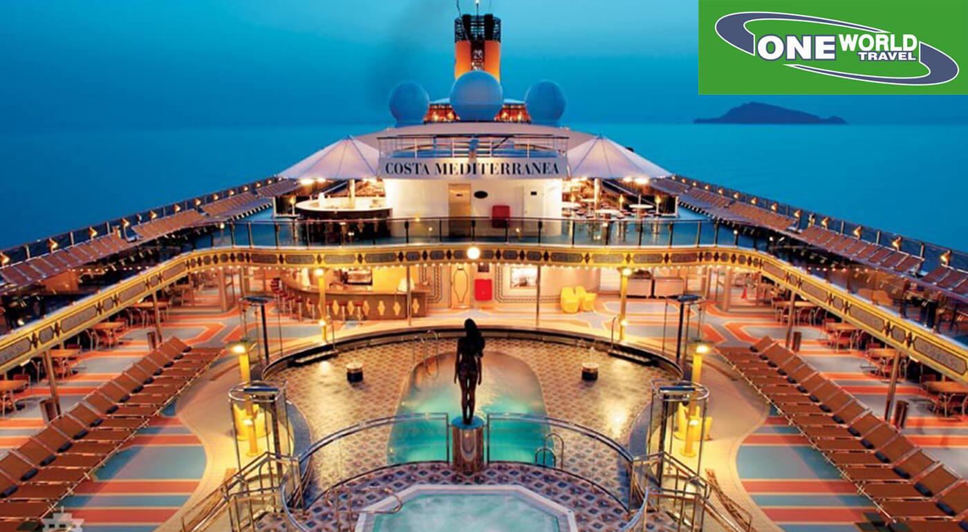 8-dňová plavba loďou Costa Mediterranea po Severnom mori s návštevou najznámejších prístavov Západnej Európy so slovenským delegátom