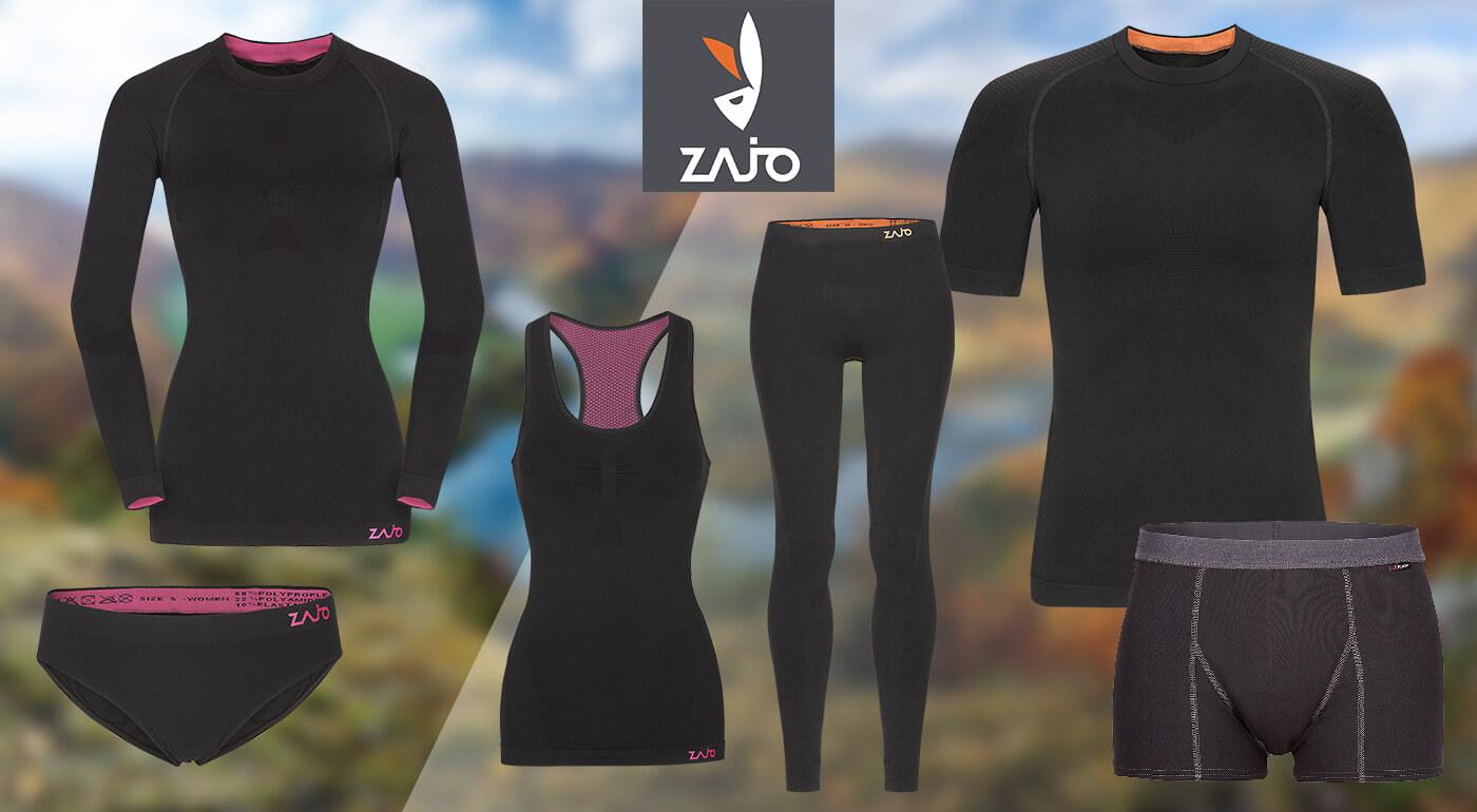 Ľahké a elastické spodné prádlo alebo tričká Zajo Contour