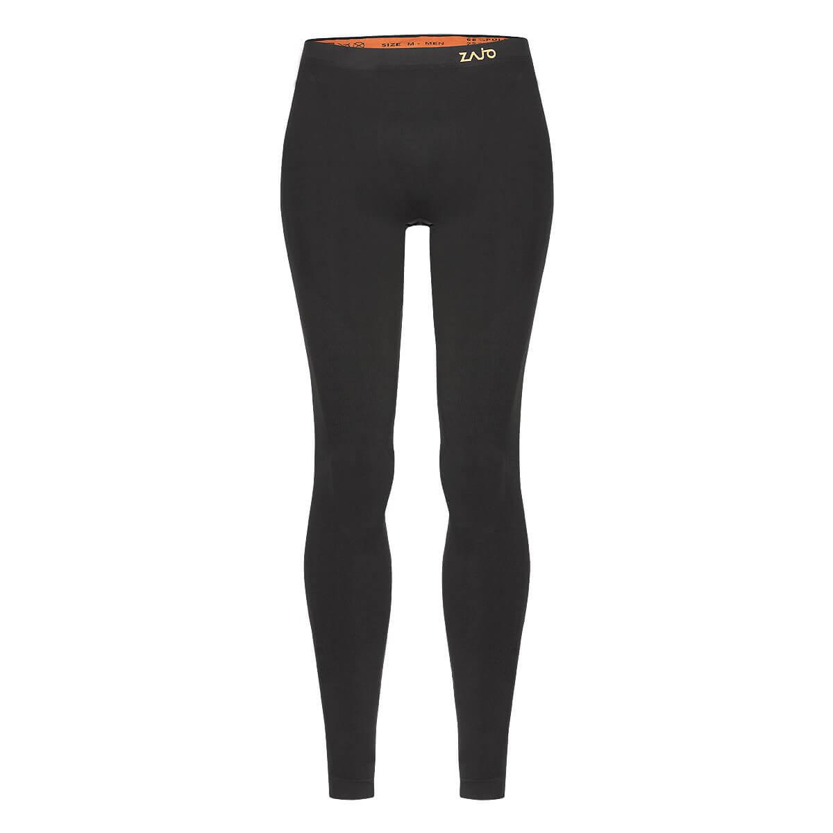 Pánske spodné prádlo Zajo Contour M Pants Black - veľkosť S