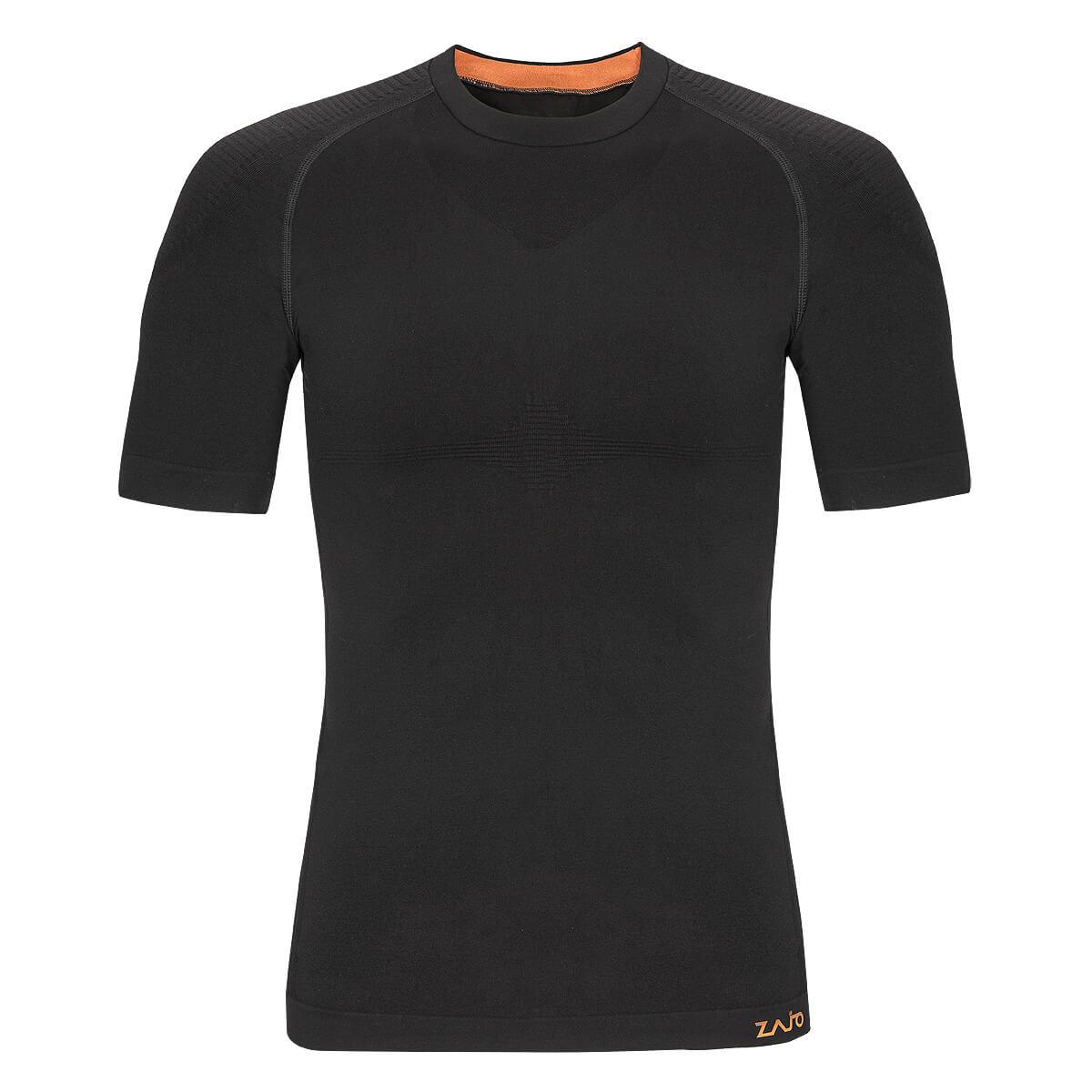 Pánske tričko Zajo Contour M T-shirt SS Black - veľkosť S