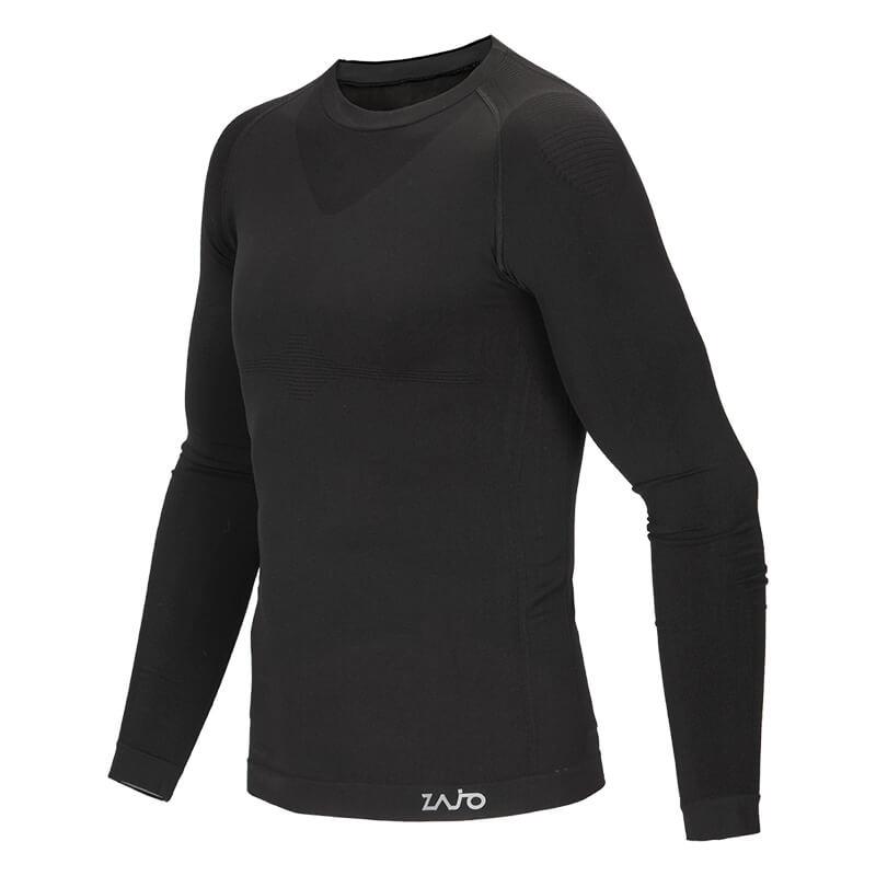 Pánske tričko Zajo Contour M T-shirt LS Black - veľkosť M
