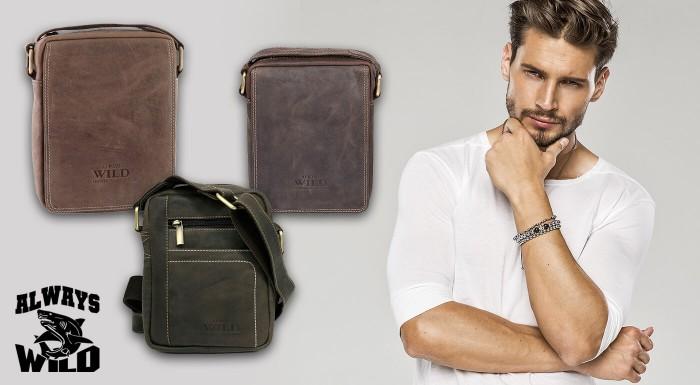 Pánska taška cez rameno je ten najlepší spôsob, ako mať kľúče, peňaženku a doklady pekne na poriadku. Navyše pravá koža dodá šmrnc a štýl každému džentlmenovi!