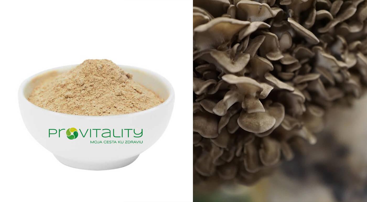 100% prášok z huby Maitake (60 g)