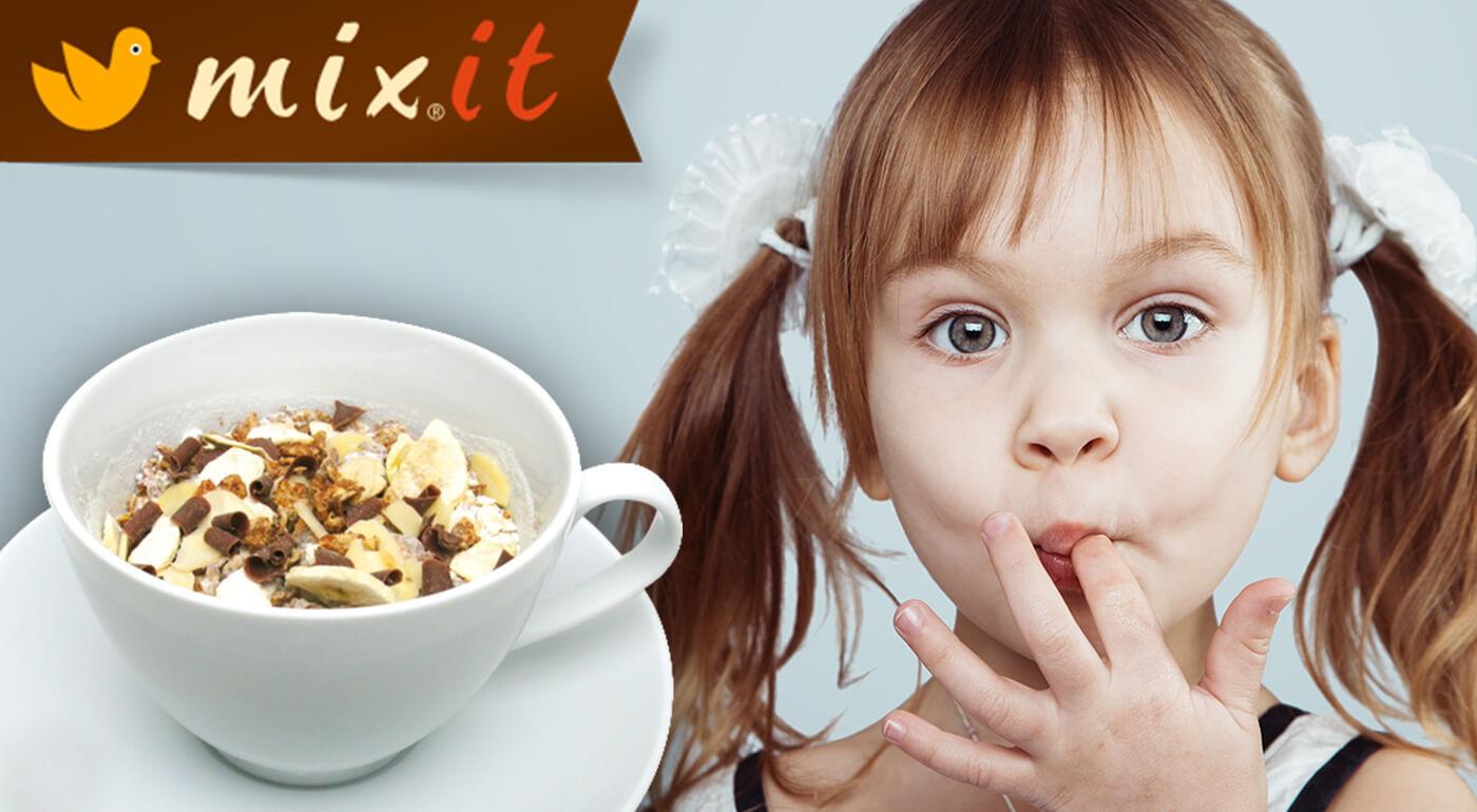 Dobroty MIXIT ako raňajky alebo chutný snack - kaše a oriešková nádielka pre všetky mlsné jazýčky