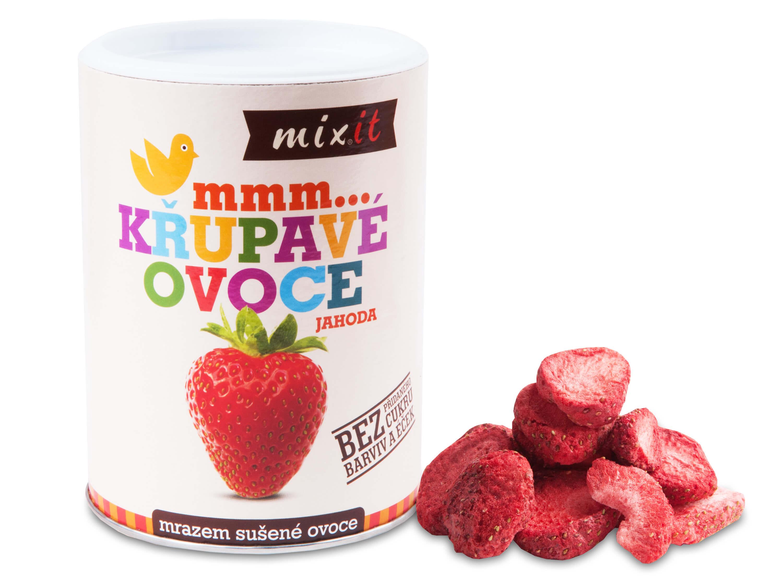 MIXIT Jahoda - chrumkavé ovocie 50 g