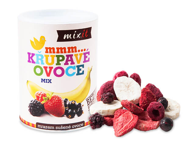 MIXIT Malé chrumkavé ovocie  70 g