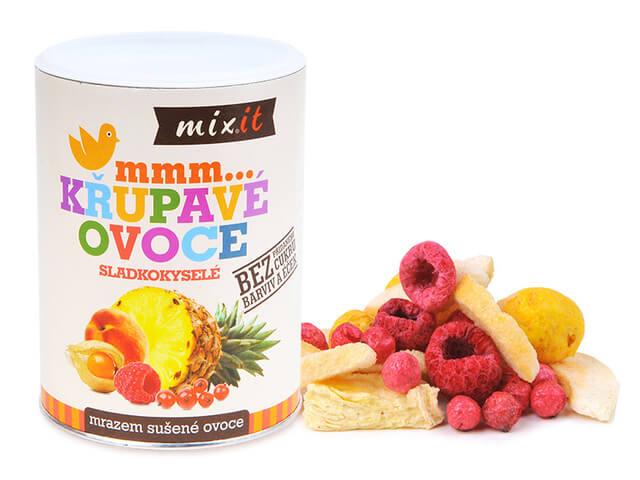 MIXIT Malé chrumkavé ovocie - sladkokyslé 70 g