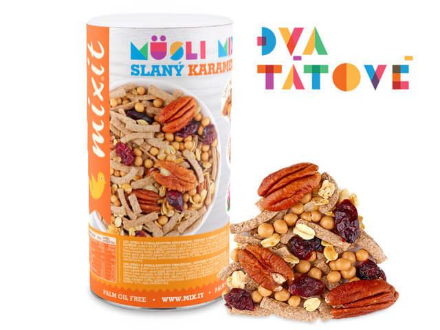 MIXIT Pečený Mixit - slaný karamel & pekan 470 g