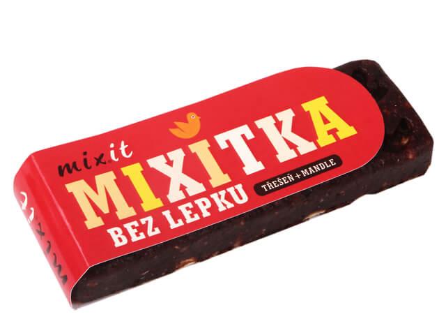 Mixitka bez lepku MIXIT - Čerešňa + mandle 50 g